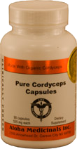 Aloha Medicines' Cordyceps